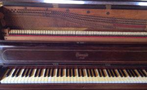 Piano cadre bois Gaveau