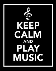 keep calm and play music sans cours de solfège
