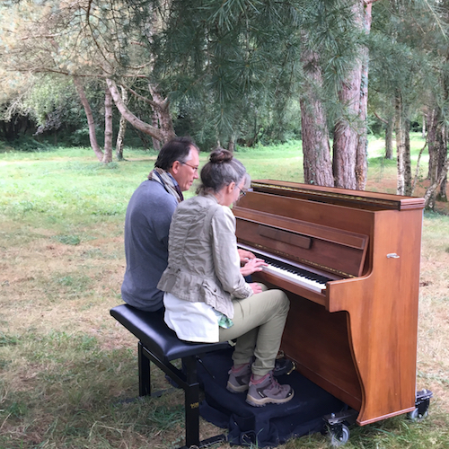 Le Piano Libre avec Marie Tanneux, conteuse en forêt de Brocéliande